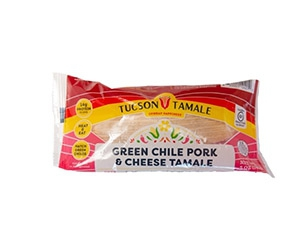 Free Green Chile Pork & Cheese Single Tamale From Tucson Tamale