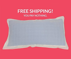 Free Cooling Pillow Cover From Twolet