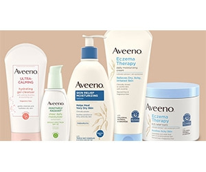Free Aveeno Lotions, Balms, Sunscreens And Creams Samples