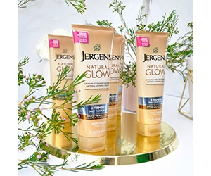 Free Jergens Natural Glow Daily Moisturizer Sample