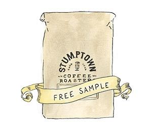 Free Hair Bender Coffee Sample From Stumptown Coffee Roasters