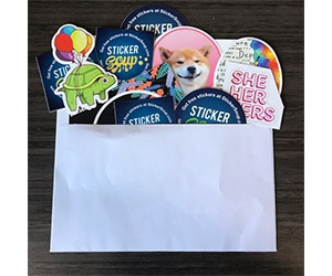 Free Sticker Pack Monthly From StickerSoup