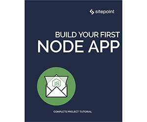 """Free eBook: """"Build Your First Node App"""""""