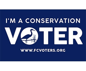 "Free ""I'm A Conservation Voter"" Sticker"