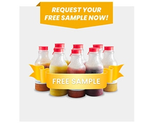 Free Aseptic Fruit Purees Sample Set