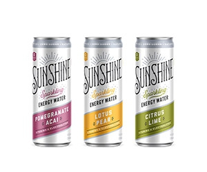 Free Sunshine Sparkling Energy Water