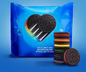 Free Oreo Rainbow Cookies Pack