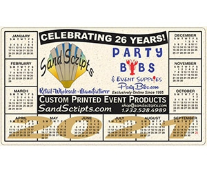 Free Magnet 2021 Calendar From Sand Scripts