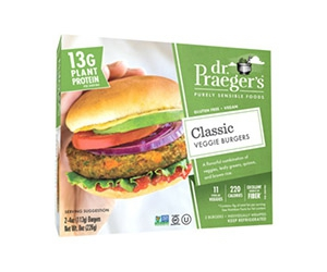 Free Classic Veggie Burgers From Dr. Praeger's