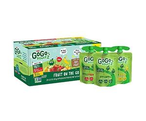 Free GoGo SqueeZ Applesauce x20 Pouches