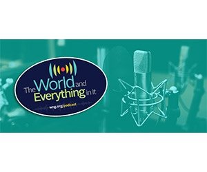 """Free """"The World And Everything In It"""" Sticker"""