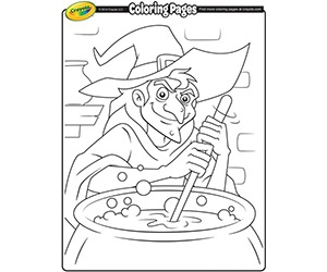 Free Halloween Prints From Crayola
