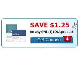 Save $1.25 on any ONE (1) LOLA product