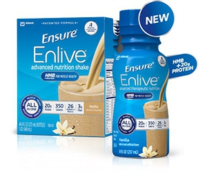 Free Nutritional Shake Samples For Muscle Health From Ensure Enlive