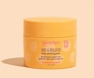 Free Body Exfoliating Pads From SweetSpot Labs