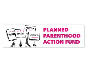 "Free ""Planned Parenthood"" Sticker"