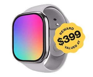 Free Apple Watch Series 6 + $100 For Review