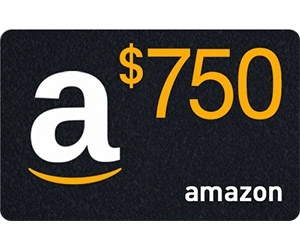 Free $750 To Your Amazon Account