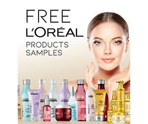 Free L'Oreal Paris Cosmetics Samples