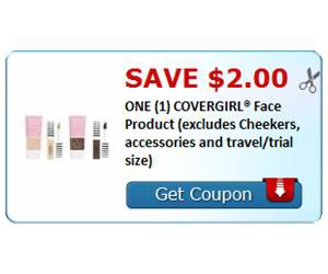 Save $2.00 ONE (1) COVERGIRL® Face Product