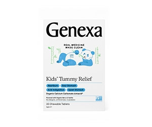 Free Kids' Tummy Relief Tablets From Genexa