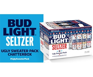 Free Bud Light Seltzer Ugly Sweater Pack