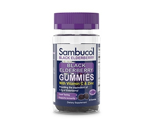 Free Sample Packs of Sambucol Black Elderberry Gummies
