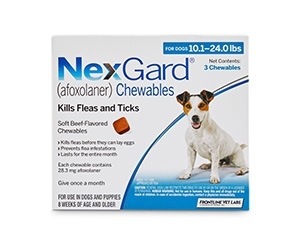 Free NexGard Chewables For Dogs