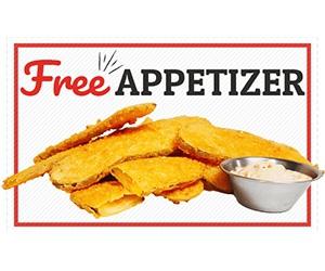 Free Appetizer At Soda Jerks