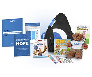 Free JDRF Bag Of Hope For Kids With Diabetes