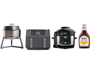 Win A Solo Stove Grill, One Year's Supply Of Ray's, Pressure Cooker, And More