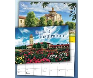 Free 2021 Seeds of Inspiration Calendar