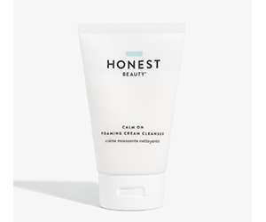 Free Calm On Foaming Cream Cleanser From Honest Beauty