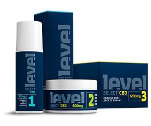 Free Level Select CBD Sports Cream Sample