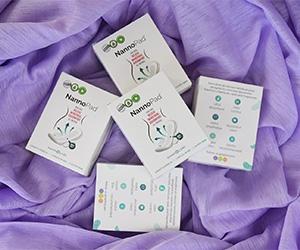 Free NannoPad Sanitary x5 Pads Samples