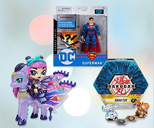 Free Bakugan, Hatchimals, Monster Jam, Paw Patrol, Scritters And More Toys And Games From Spin Master