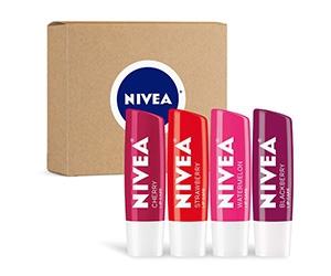 Free Nivea Lip Care Fruit Variety Pack