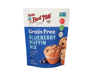 Free Grain Free Blueberry Muffin Mix