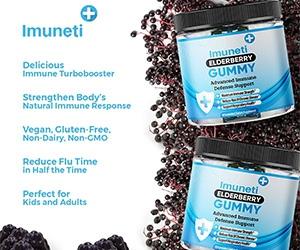 Free Imuneti+ Elderberry Gummies Bottle