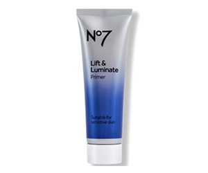 Free No7 Lift & Luminate Primer Sample