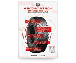 Free Otr Inspection Poster from Bridgestone