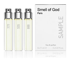 Free Smell Of God Fragrance Sample