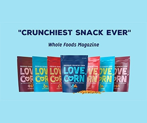 Free Love Corn Crunchy Snacks