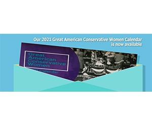 Free 2020 Great American Conservative Women Calendar Sample