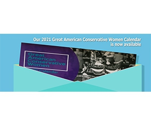Free 2020 Great American Conservative Women Calendar Sample