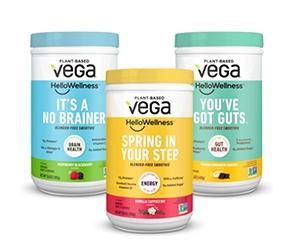 Free Vega Hello Wellness Smoothie Mix