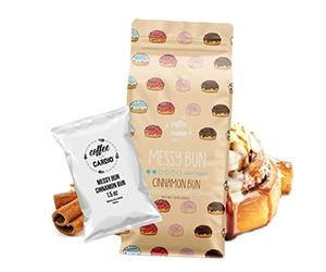 Free Cinnamon Bun Ground Coffee Sample From Coffee Over Cardio