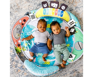 Free 5-in-1 Epic Developmental Learning Gym From Infantino