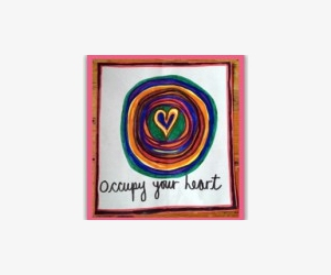 Free Occupy Your Heart Sticker