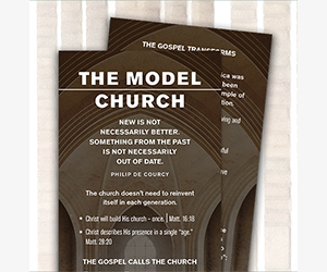 "Free ""Model Church"" Study Bookmark From Know The Truth"
